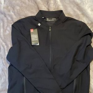Men's Under Armour fitted lightweight jacket. M